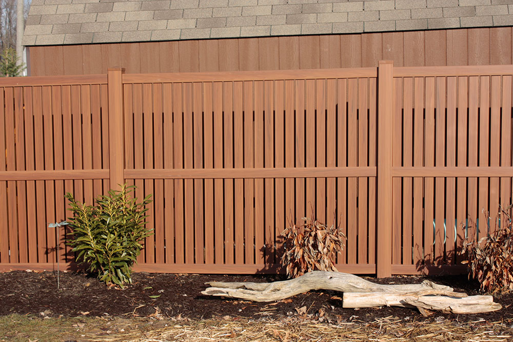 Brown Wooden Fence - Fence Contractors in Baltimore County, Maryland. Excel Fencing