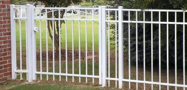 Baltimore County, Maryland Excel Fencing & Decking White Aluminum Gate