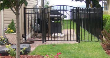 Aluminum Gate - Baltimore County, Maryland Excel Fencing & Decking