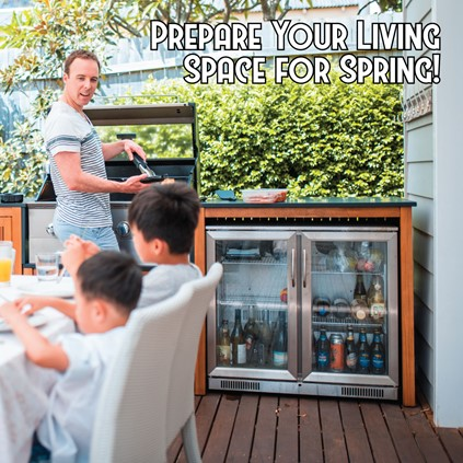 Preparing Outdoor Living Space for Spring